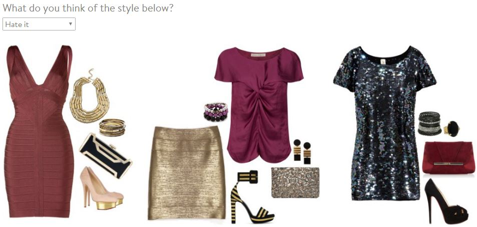 Stitch Fix Style Profile Fashion Grouping 5